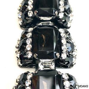 MOANS Jewelry - MOANS Smokey Stone Statement Fashion Bracelet NWOT